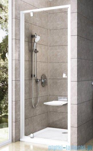Ravak Drzwi prysznicowe obrotowe Pivot PDOP1-90 satyna transparent 03G70U00Z1