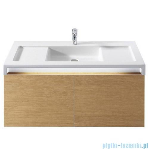 Roca Stratum Umywalka z blatem ceramicznym 110x50cm powłoka Maxi Clean A32763100M