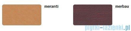 Sanplast Obudowa krótka do wanny Altus prostokątnej, OWP-ALT/EX D-M 80 cm meranti 620-120-0250-19-000