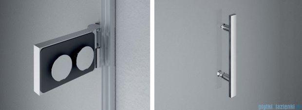 SanSwiss PUR PU31P drzwi prawe 100x200cm cieniowane czarne PU31PD1001055