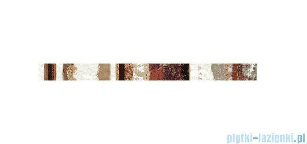 Pilch Nordica Trucco Red listwa ścienna 4,5x60