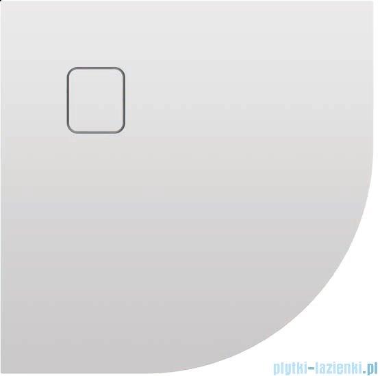 Riho Basel 451 brodzik półokrągły biały 90x90x4,5cm DC98