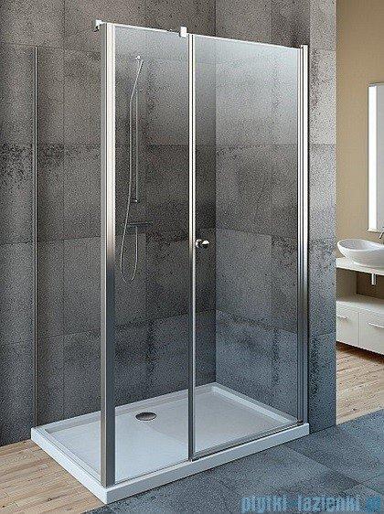 Radaway Eos KDS kabina prysznicowa 100x100 prawa szkło przejrzyste + brodzik Argos C + syfon 37552-01-01NR