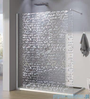 SanSwiss Walk-in Pur PDT4P Kabina 140x200cm szkło dekor pismo PDT4P1401063