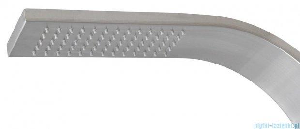 Corsan Snake Panel natryskowy z termostatem stal szczotkowana S-002T