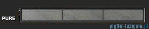 Wiper Odpływ liniowy Classic Pure 100cm bez kołnierza szlif PU1000SCS100