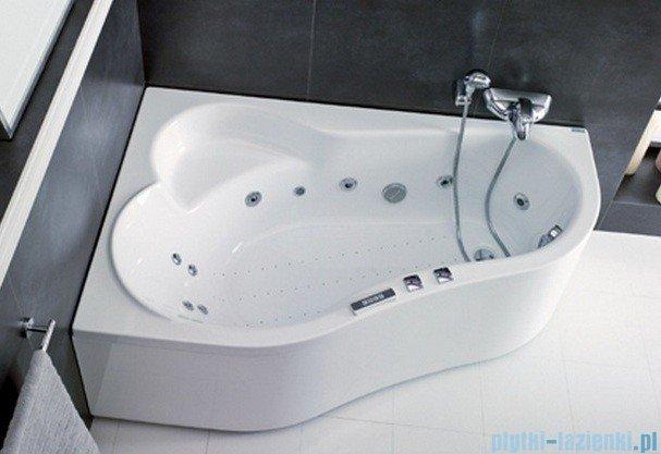 Poolspa Wanna asymetryczna LEDA 150x100 lewa + hydromasaż Smart 2 PHAE510ST2C0000