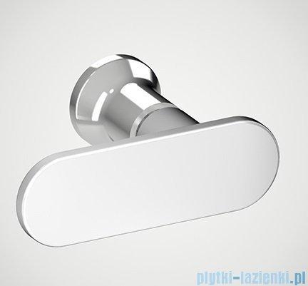 New Trendy New Soleo drzwi wnękowe bifold 90x195 cm przejrzyste Prawe D-0134A