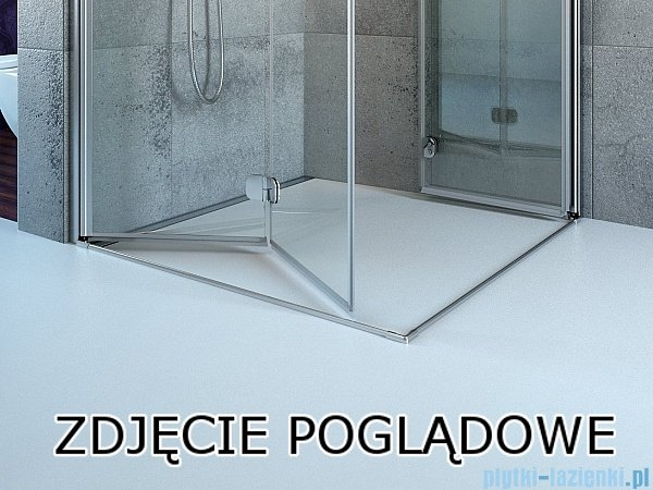 Radaway Idea Kdj kabina 110x90cm lewa szkło przejrzyste 387041-01-01L/387050-01-01R