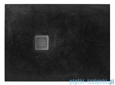 Roca Terran 100x70cm brodzik prostokątny konglomeratowy czarny AP013E82BC01400