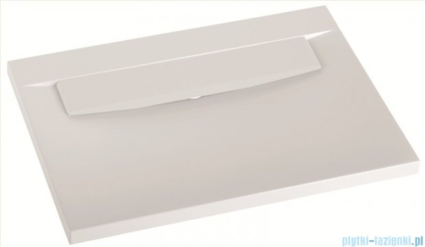 Marmorin umywalka nablatowa Tatoo bez otworu 70,5cm biała 111071020010