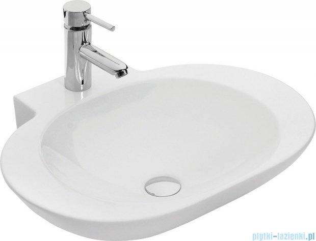 Antado Susanne szafka z umywalką Mia biała 95x46cm AS-140/95-WS+AS-B/1-140/95-WS+UCS-TC-60