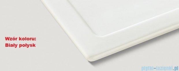 Blanco Axon II 6 S  Zlewozmywak ceramiczny komora lewa kolor: biały połysk z kor. aut. i akcesoriami  516541