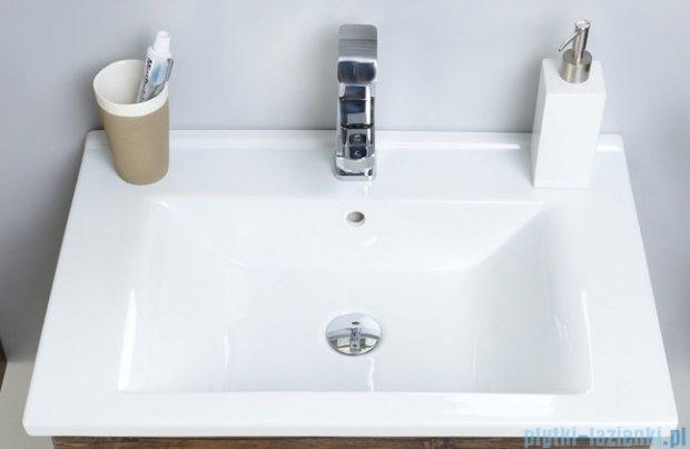 Antado Variete ceramic szafka z umywalką ceramiczną 2 szuflady 62x43x50 czarny połysk FM-AT-442/65/2GT-9017+UCS-AT-65
