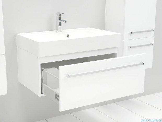 Antado Variete szafka z umywalką, wisząca 80 biały połysk FM-442/8GT + UNA-800
