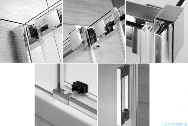 Radaway Espera KDD Kabina prysznicowa 80x90 szkło przejrzyste 380150-01L/380151-01R