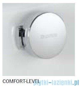 Kaldewei Comfort-Level Conoduo model 4004 Syfon z emaliowaną pokrywą odpływu i przelewem chromowym 687770670001