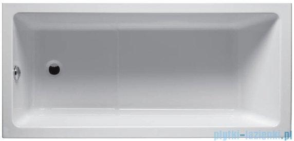 Riho Lusso Plus Wanna prostokątna 170x80 z hydromasażem TOP Aero11 BA12T1