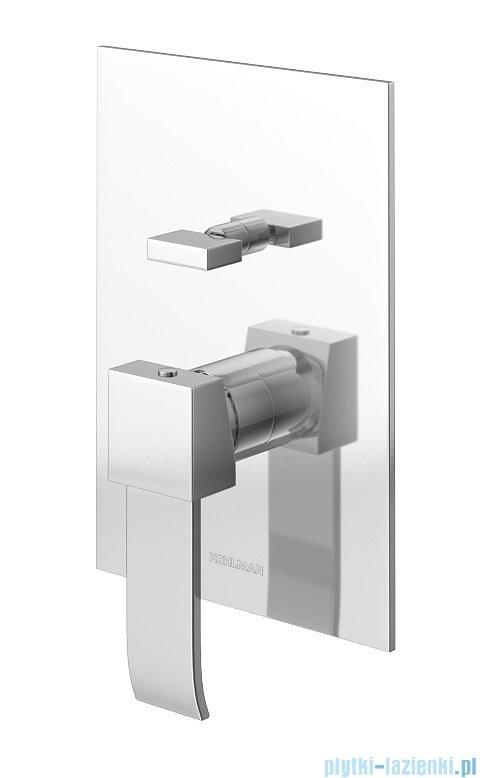 Kohlman Axis zestaw prysznicowy chrom QW210NR20