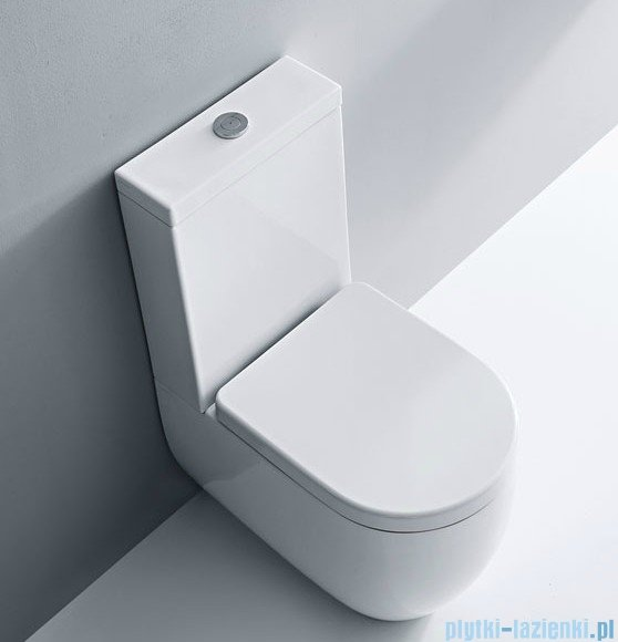 Kerasan Flo miska do kompaktu WC 3117