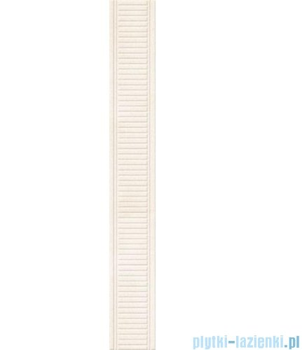 Paradyż Sabro bianco listwa ścienna 8x59,5