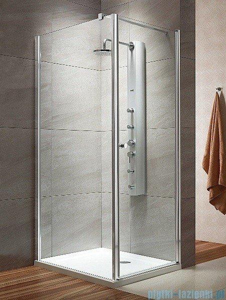 Radaway Eos KDJ kabina prysznicowa 100x100 prawa szkło intimato + delos C + syfon 37523-01-12NR