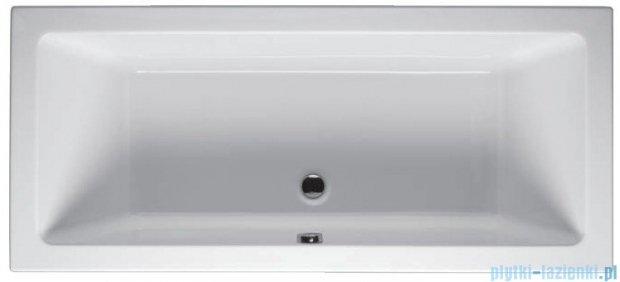 Riho Lusso Wanna prostokątna 180x80 z hydromasażem TOP Hydro 6+4+2/Aero11 BA98T5