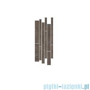 Paradyż Taranto brown mix paski listwa 20x52