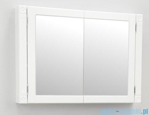 Antado Ritorno szafka z lustrem 100x71 biała VR-229-14