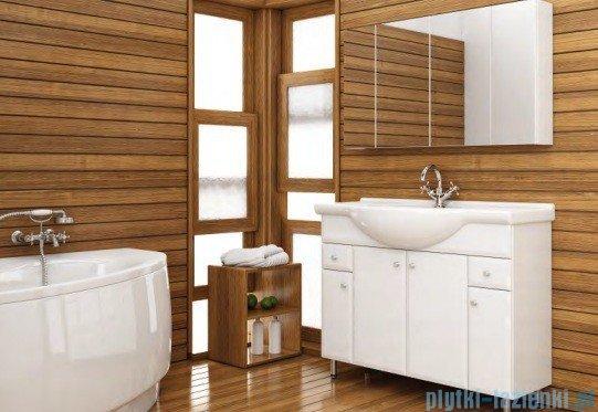 Aquaform Dallas szafka wisząca z lustrem 85cm biały 0408-530123