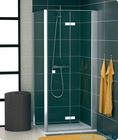 SanSwiss Swing Line F SLT1 Ścianka boczna 20-90cm profil srebrny SLT1SM10107