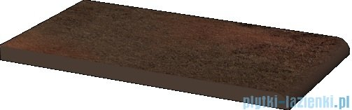 Paradyż Semir brown klinkier parapet 13,5x24,5