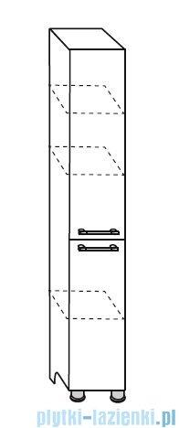 Antado Prima Słupek wysoki, stojący 30x31,4x180 wenge mat BFDM-175
