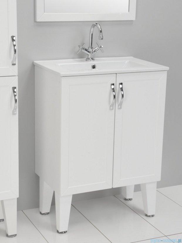 Antado Rustic szafka z drzwiczkami i umywalką 60x38cm RST-141/6-14 + UCE-60
