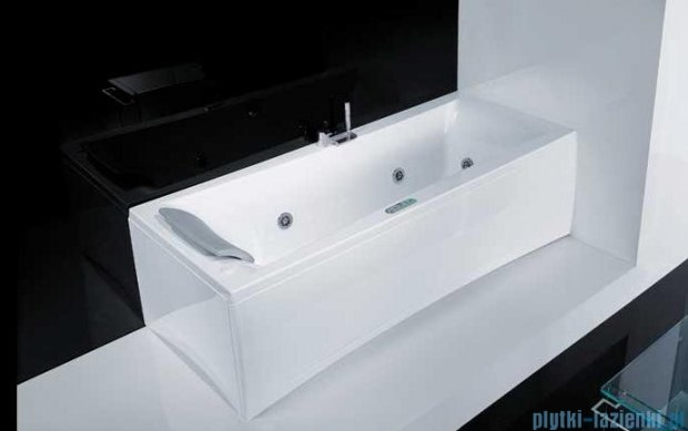 Novellini Elysium Wanna Y 170x70 z hydromasażem wodnym PRAWA Y517070RD2-A2K