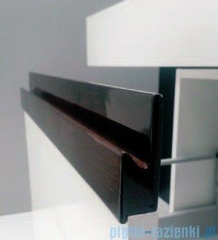 Antado Combi szafka dolna lewa 45x45x40 biała/ciemne drewno ALT-141/45-L-WS/dp