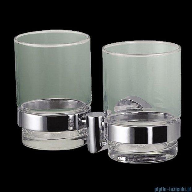 Stella Classic uchwyt ze szklanką podwójny 07412