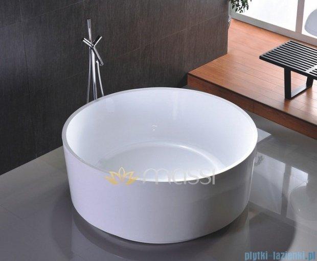 Massi Ringo wanna wolnostojąca 140x140 cm biała MSWA6828