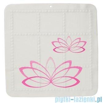 Sealskin Lotus mata antypoślizgowa 55x55cm Pink 315211250