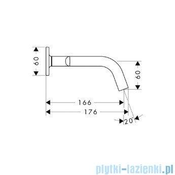 Hansgrohe Axor Citterio M 3-otworowa bateria umywalkowa podtynkowa DN15 34313000