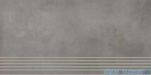 Paradyż Tecniq silver półpoler stopnica 29,8x59,8