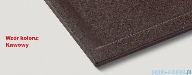 Blanco Zenar XL 6 S-F  Zlewozmywak Silgranit PuraDur komora prawa kolor: kawowy z kor. aut. 516066