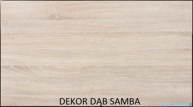 Antado Spektra Szafka wisząca górna 30x20x72 dąb Samba FDF-418/62