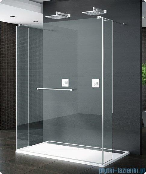 SanSwiss Pur Trio Ścianka stała 90-160cm profil chrom szkło Durlux 200 TRIOSM11022
