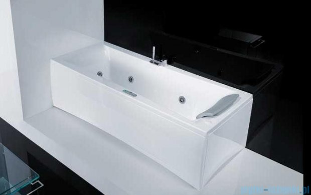 """Novellini Elysium """"Y"""" Wanna 190x80cm z hydromasażem wodnym Lewa Y519080RS0-A0K"""