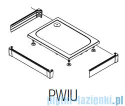 SanSwiss PWIU Obudowa do brodzika 3-stronna 80x100cm połysk PWIU801008050