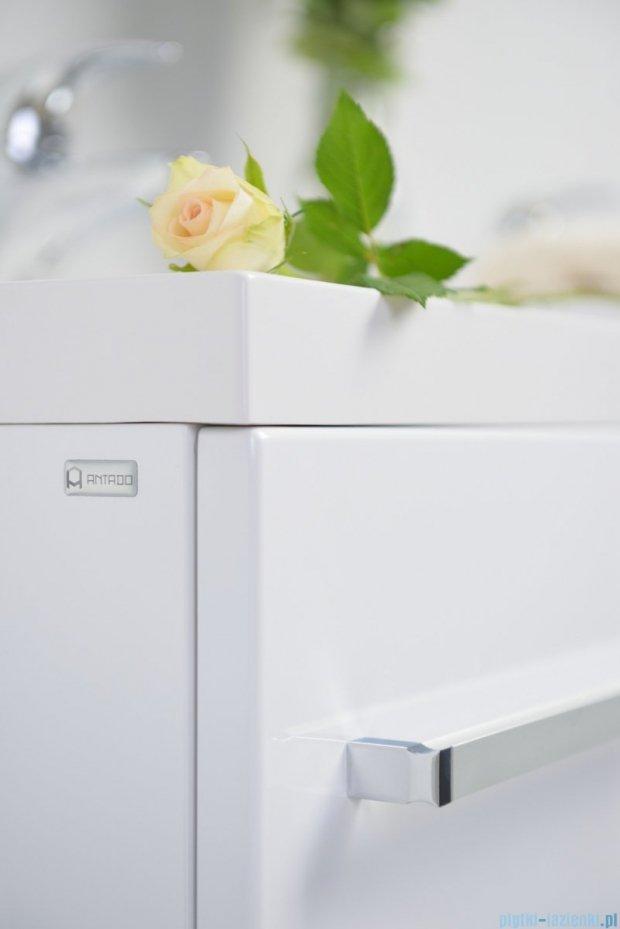 Antado Variete szafka z umywalką, wisząca 70x50x33 biały połysk FM-442/7GT + UNA-700