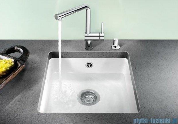 Blanco Subline 375-U Komora podwieszana ceramiczna kolor:  szarość aluminium z kor. aut.  516041