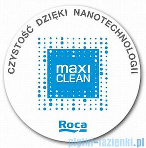 Roca Urban Umywalka nablatowa 40x40cm z grafiką Shanghai powłoka Maxi Clean A32765H00M