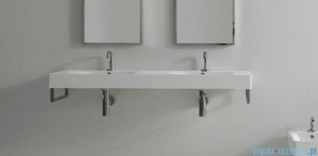 Kerasan Cento Umywalka podwójna stojąca lub wisząca 140x45 3536